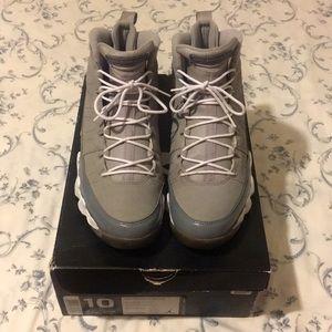 Jordan 9 - Cool Grey